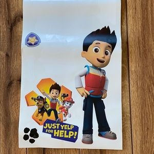 NEW Paw Patrol Repositional Wall Decal Kids Room